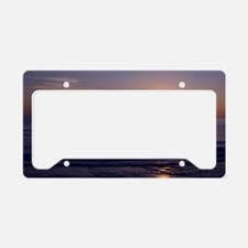 Sunrise Over Atlantic License Plate Holder