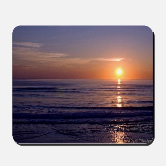 Sunrise Over Atlantic Mousepad