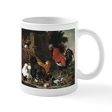 Hens And Chicks Mugs