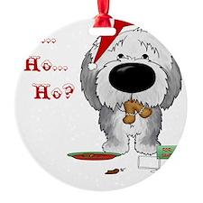 SheepdogBlueShirt Ornament
