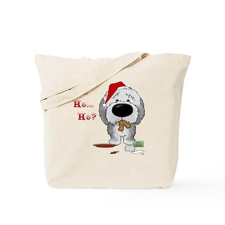 SheepdogBlueShirt Tote Bag