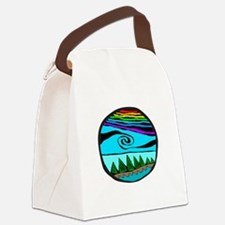223wt AncientS ocean Canvas Lunch Bag