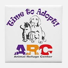 2-time_to_adopt Tile Coaster