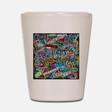 graffiti_peace_international Shot Glass