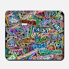graffiti_peace_international Mousepad