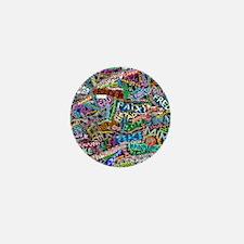 graffiti_peace_international Mini Button
