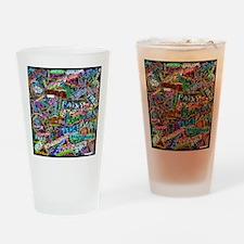 graffiti_peace_international Drinking Glass