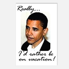 2-obama_vacation Postcards (Package of 8)