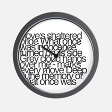 So this is permanence Wall Clock