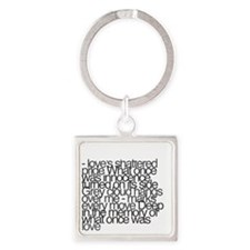 So this is permanence Square Keychain