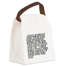 So this is permanence Canvas Lunch Bag