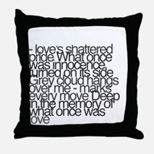 So this is permanence Throw Pillow