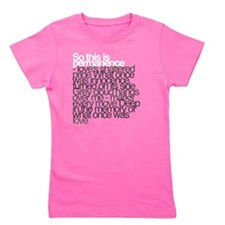 So this is permanence Girl's Tee
