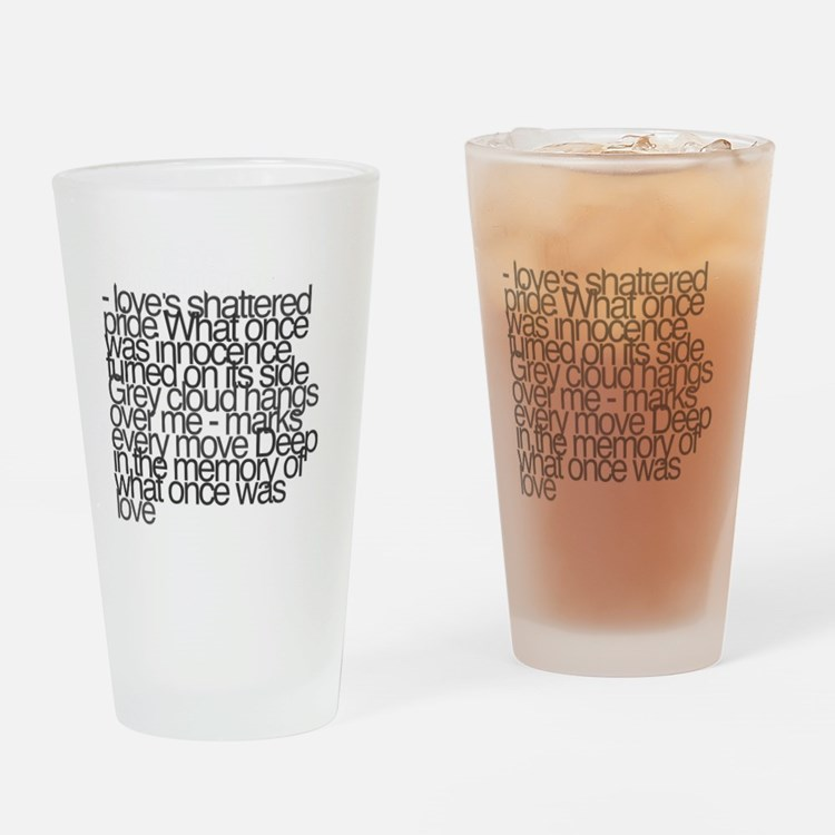 So this is permanence Drinking Glass