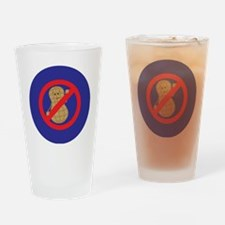 NONUTS Drinking Glass