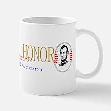 restore honor bumper sticker cropped Mug