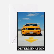 2-Determination200DPI23x35 Greeting Card