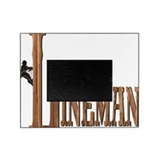 Lineman Wood Picture Frame