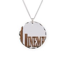 Lineman Wood Necklace