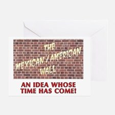mexicanwall Greeting Card