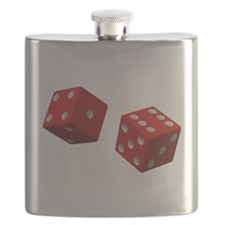 Rolling Dice Flask