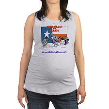 zz dillo (2) Maternity Tank Top