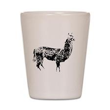llama Shot Glass