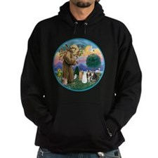 R-St Francis - Five Cats (AmSH) Hoodie