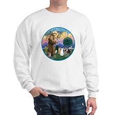 R-St Francis - Five Cats (AmSH) Sweatshirt