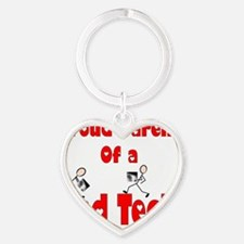Rad Tech Heart Keychain