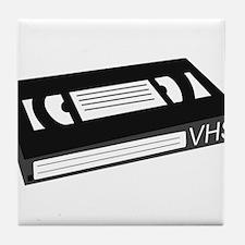 VHS Cassette Tape Tile Coaster