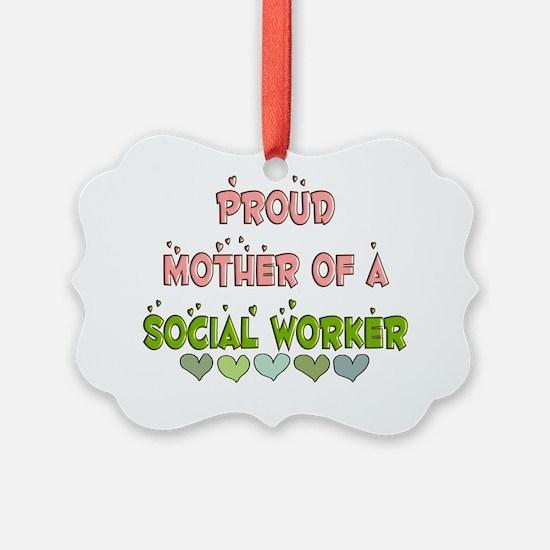 Social Worker Ornament