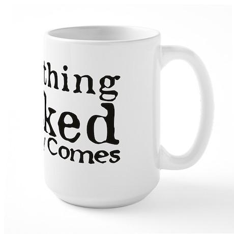 Something Wicked Large Mug (Black