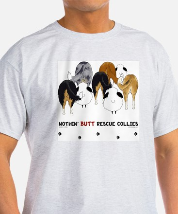Nothin' Butt Rescue Collies T-Shirt