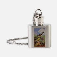 Goldfinch Flask Necklace