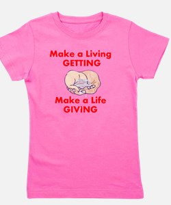 getting-giving Girl's Tee