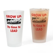 time-to-lead Drinking Glass