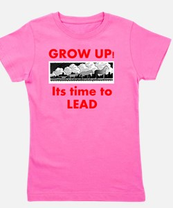 time-to-lead Girl's Tee