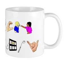 speech Small Mug