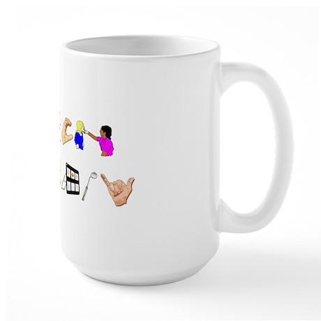 speech Large Mug
