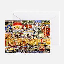 Prendergast - Boat Landing-Dinnard Greeting Card