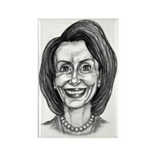 Nancy Sketch Rectangle Magnet