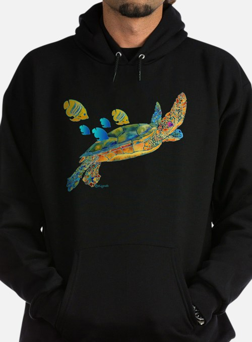 Most Popular Sea Turtle Hoodie (dark)