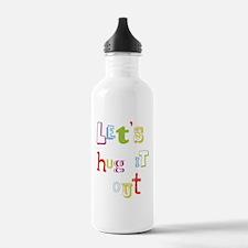 W_Lets hug it out Water Bottle