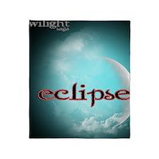 Eclipse Movie LiteBlue Glow Moon 2 Throw Blanket