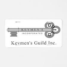 Keymen_Lg_Low Aluminum License Plate