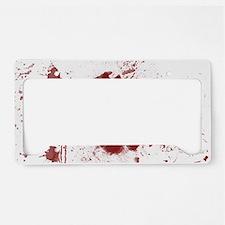 handprint License Plate Holder