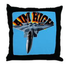 cp-mouse f15 aim high Throw Pillow