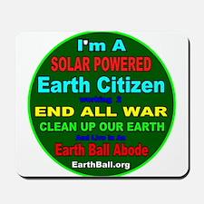 SOLAR POWERED - Earth Citizen Mousepad