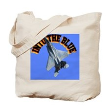 CP-MOUSE F15 INTO THE BLUE Tote Bag